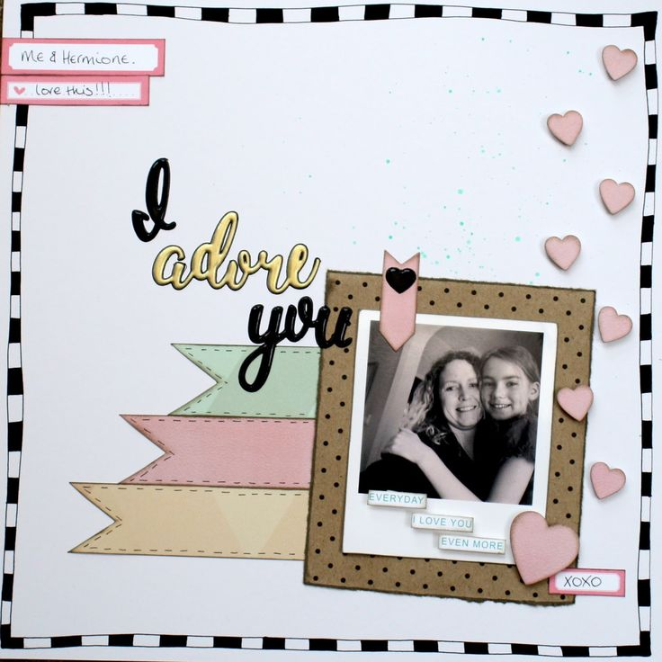 Crafty Alchemy Blog - Scrapbook layout using @craftytemplates Quirky Kits #scrapbooking #scrapbooklayout