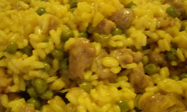 ⇒ Bimby, le nostre Ricette - Bimby, Risotto Piselli e Salsiccia