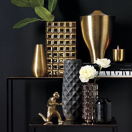 Browse our collection of decorative vases, including tall, bud and wall vases…