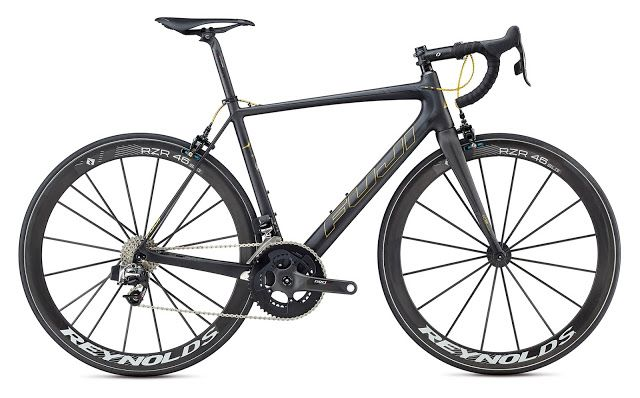 TOP 5 BICICLETAS DE CARRETERA: FUJI SL ELITE, peso pluma para una bici pro