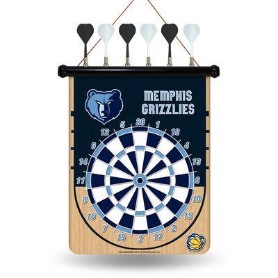Rico NBA Magnetic Dart Board NBA Team: Memphis Grizzlies