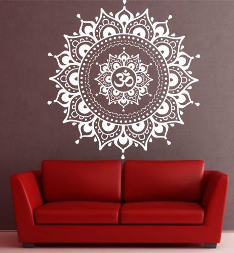 Mandala-wall-decal-Eye-Indian-Buddha-Yoga-Fatima-Mandala-Ganesh-Lotus