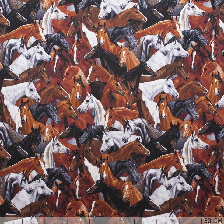 De mooiste horses stoffen vind je bij Textielstad.nl. ✓ Snelle levering ✓ Beste prijs ✓ Betrouwbaar ✓ A-merken.