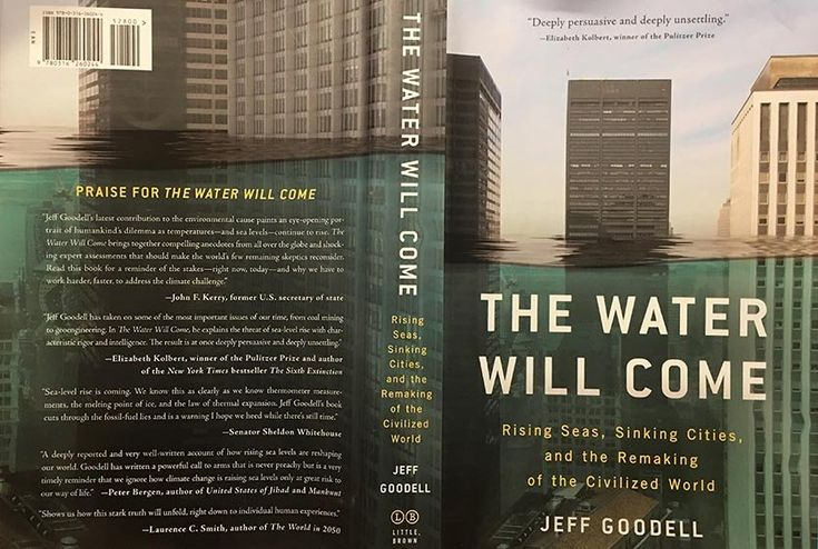 The Water Will Come: A Must-Read Book on Sea Level Rise by Dr. Jeff Masters   Category 6   Weather Underground