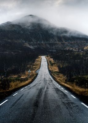 Mikael Karlsson - Up Among The Clouds. Mountain roads.