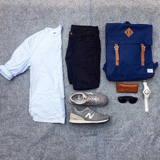 or: #WDYWTgrid by @josh_hipos #mensfashion #outfit #ootd : #HM : #Uniqlo…