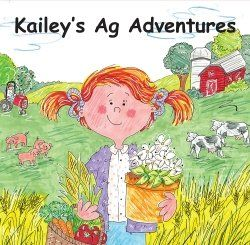 series of children's book on ag education with lesson plans and activities