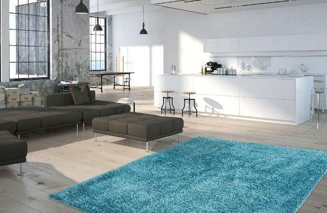 Ručně tkaný kusový koberec Touch Me 370 PETROL
