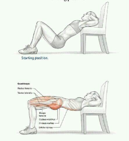 Trasero y piernas tonificadas