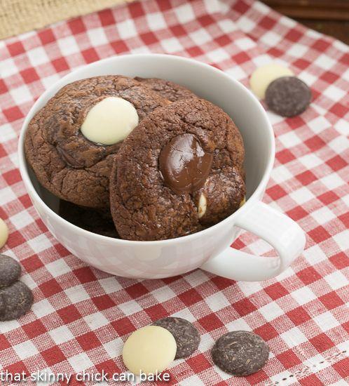 Brownie Drop Cookies Redux | Easy drop cookie that tastes like fudgy brownies!!!