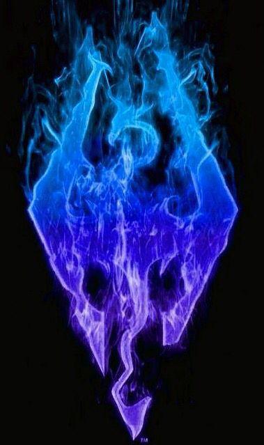 Beautiful Skyrim Logo. Would make an awesome tattoo