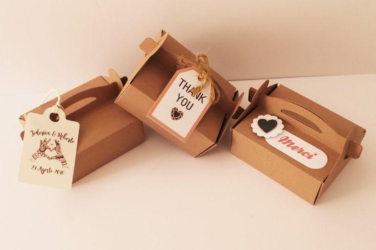 Scatola porta confetti / favor boxes / biote a dragee customizable di PickaPack…
