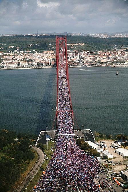 Lisbon Half marathon, Portugal.