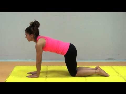 Cviky při bolesti v zádech - Helptobefit podle Ludmily Mojžíšové - YouTube