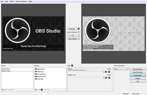 Open Broadcaster Software | HomeSoftware per a stream en directe