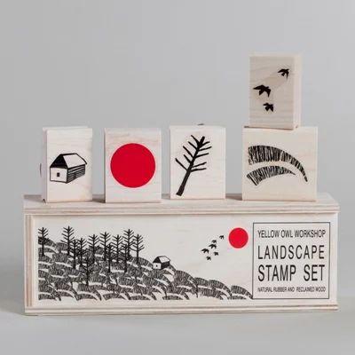"Rakuten: Yellow Owl Workshop( イエローオウルワークショプ )Stampset ""Landscape""(…"