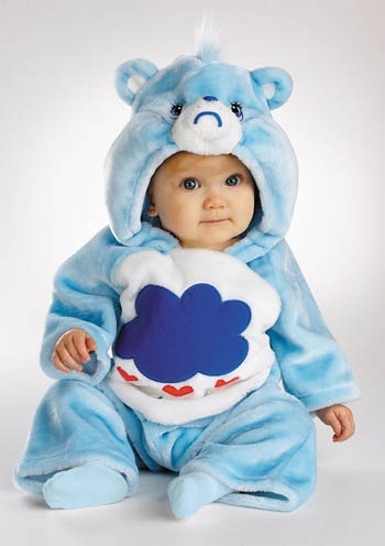 Care Bear Grumpy 3-12 Month, blue bear costume & Care Bear costume