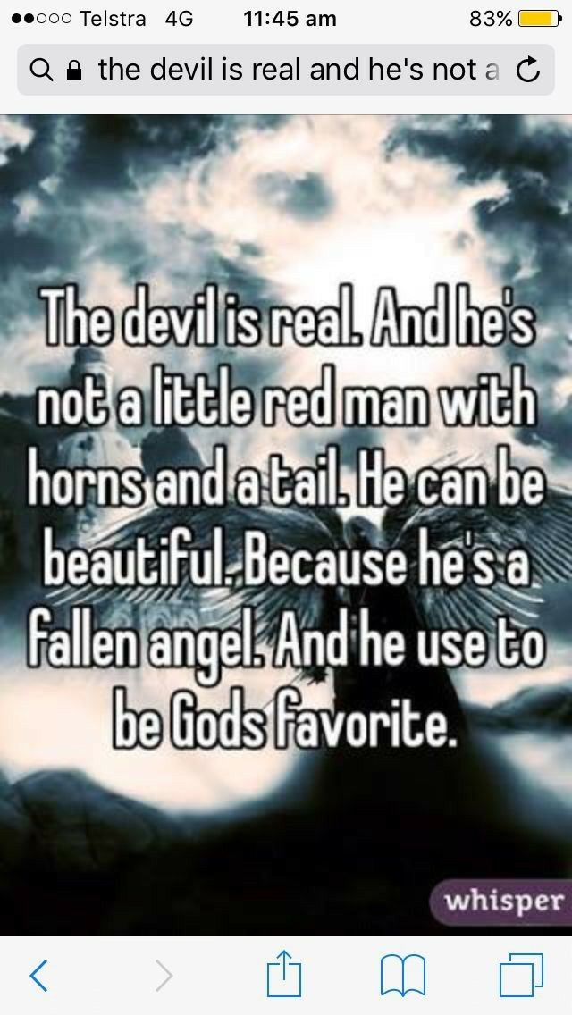 """I AM NOT CHRISTIAN but something like this has been running through my head for a while like """" why do people hate the devil so much like honestly he doesn't seem quite as bad as the typical christian republican family?? ok whatev but this is cute even tho i'm athiest lol"""