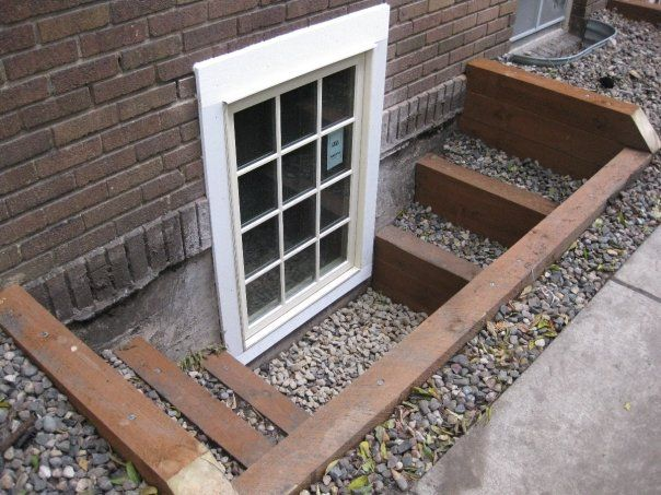 Best Stepped Well Out To The Sides Egress Windows Timber 400 x 300