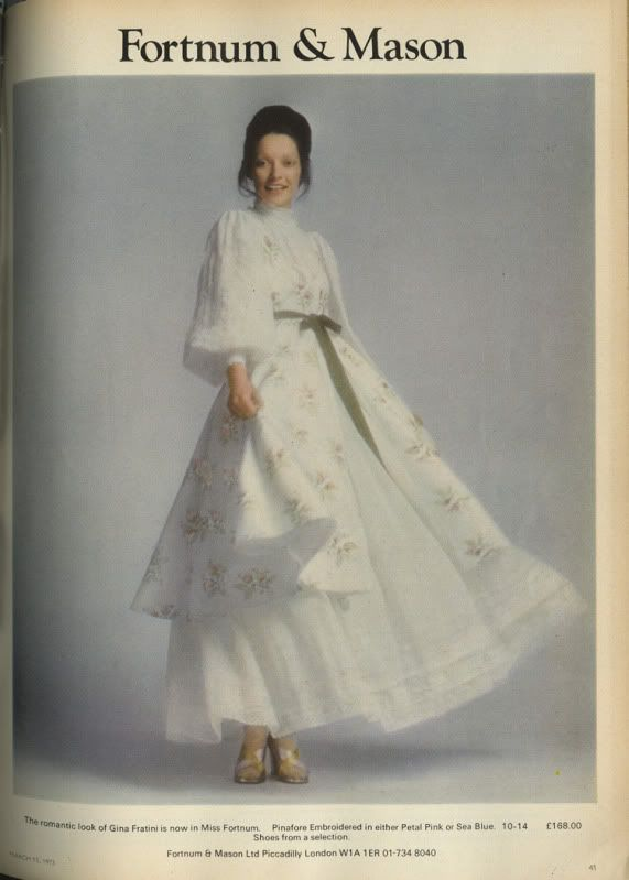 Gina Fratini dress.  1973.