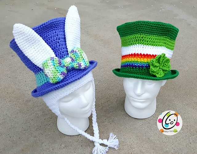 Make a whimsical top hat for spring, Easter and year round.