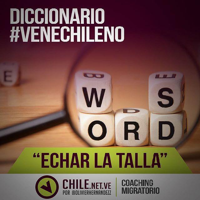Diccionario #VeneChileno ¿Cómo dicen los chilenos que la pasaron muy bien y se divirtieron con amigos? En Venezuela la alegría de la gente…
