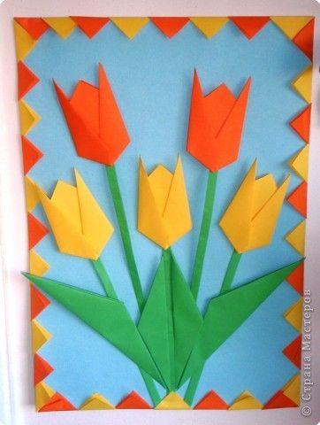 поделки из бумаги цветы своими руками: 26 тис. зображень знайдено в…
