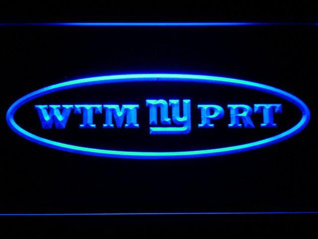 New York Giants Wellington Mara and Robert Tisch Memorial LED Neon Sign - Legacy Edition