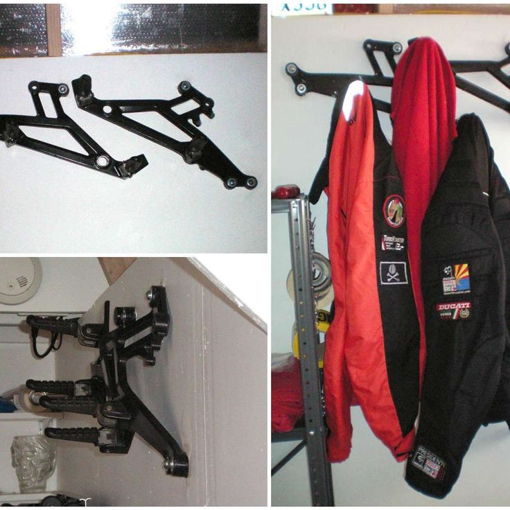 Ducati Parts Into Coat Rack  #CoatRack #Ducati #Mechanic #Reused