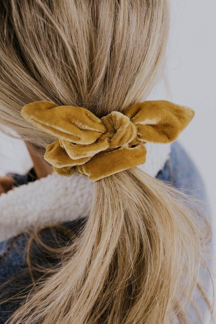 Harvest Knot Scrunchie Set