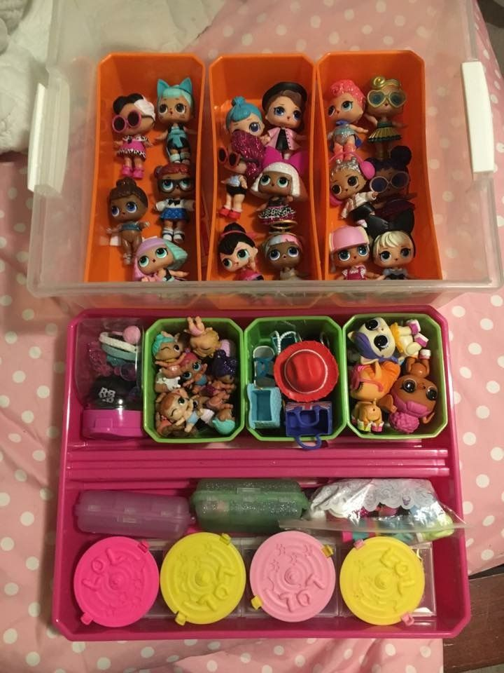 Ideas On How To Store Your Lol Surprise Dolls How To Store