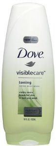 Dove Visible Care Creme Body Wash, Toning, 18 oz (Quantity of 3) by Unknown. $74.99