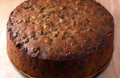 EASY CHRISTMAS CAKE RECIPE I used whiskey instead of brandy. I also added vanilla essence and extra mixed spice. I did not fold as it was too time consuming. Instead I used my hands to mix everything together. Delicious!