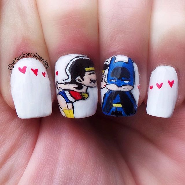 Nails Wonder Woman Can Nail Art Be Feminist: 114 Best 10 Little Canvas Images On Pinterest