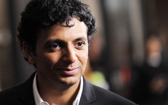 Download wallpapers Manoj Night Shyamalan, indian actor, guys, Bollywood, celebrity