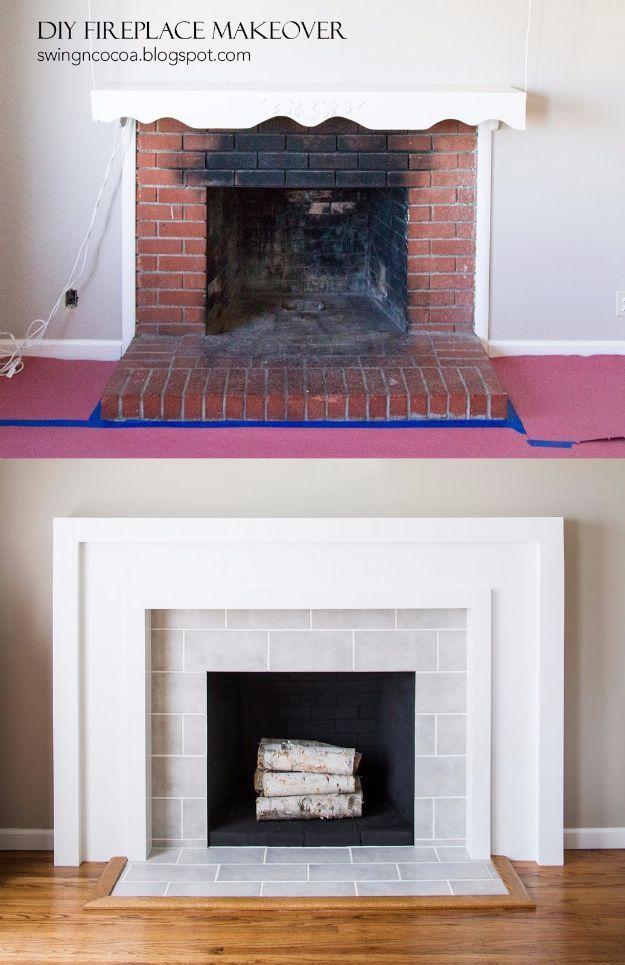 25+ best Fireplace makeovers ideas on Pinterest ...