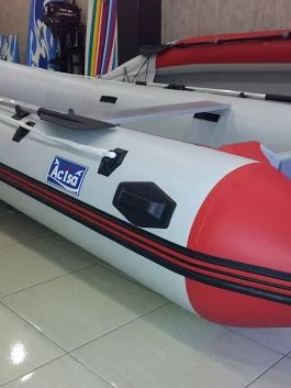 Inflatable boat with pvc fabric Valmex, Mehler made in Germany , www.acisa.biz