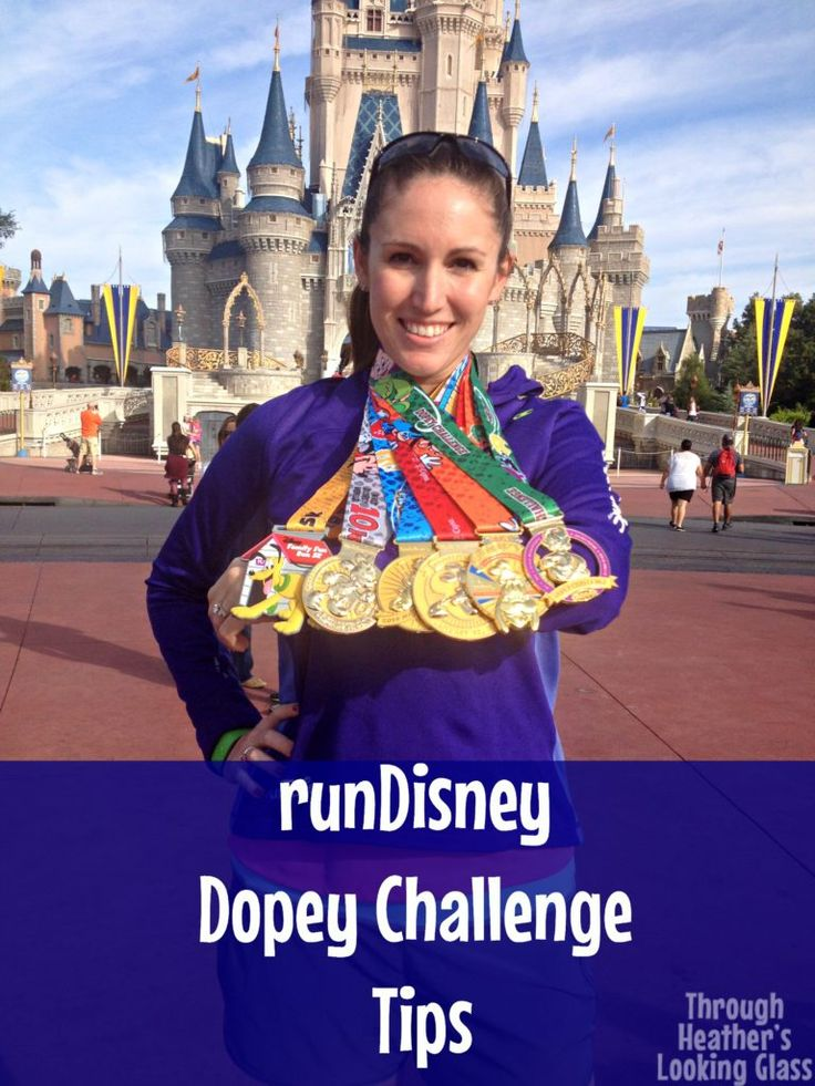 Dopey challenge tips