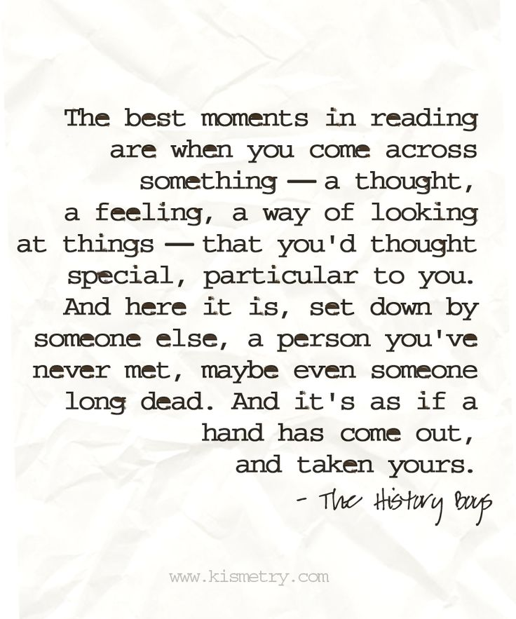 Reading is truly the most magical thing