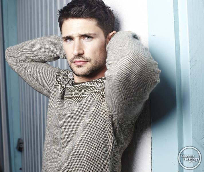"""Sweater Sweet""  Matt Dallas by Magnus Hastings"