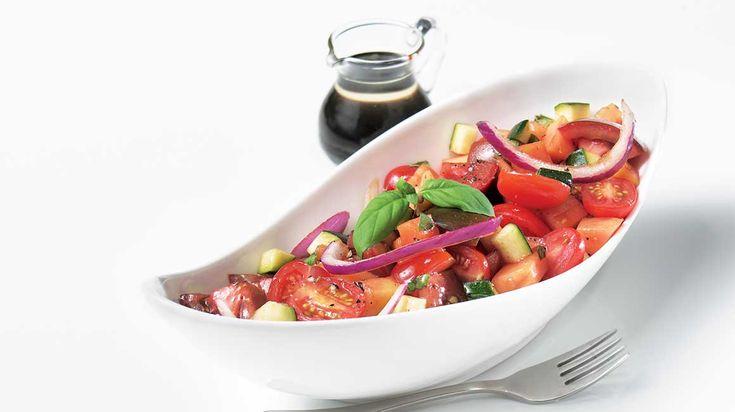 Salade de papaye et de tomates Tom-blaka