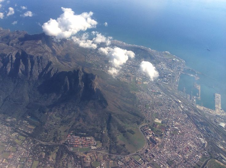 Table Mountain from above - July 2014
