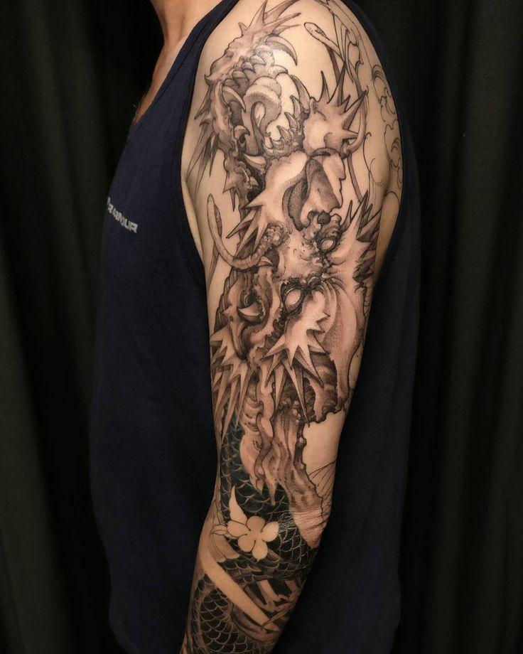 David Hoang On Instagram Back To Back Tiger Tattoo: 9 Best Inspirational Tats Images On Pinterest