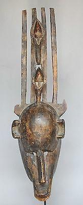 VENDU / SOLD Grand masque Bamana Bambara art africain tribal Mali arte africano Afrika kunst