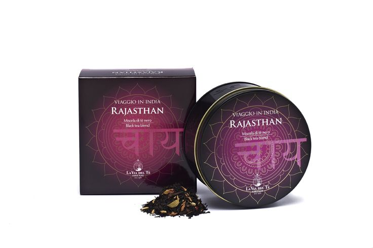 Rajasthan, strong black tea with spices, inspired by an Indian recipe  #laviadelte #teatravels
