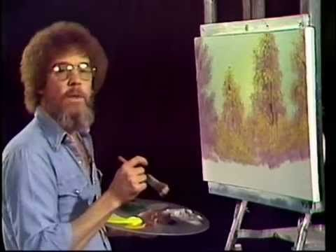 Bob Ross YouTube Channel Uploads Full Episodes of Entire 1st Season of 'The Joy of Painting'