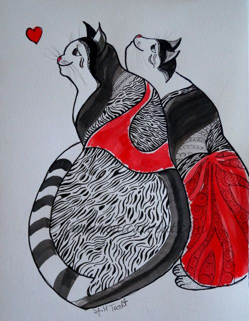 Jane Monica Tvedt - Empire of heart: Tribal Zen Love CAt`s