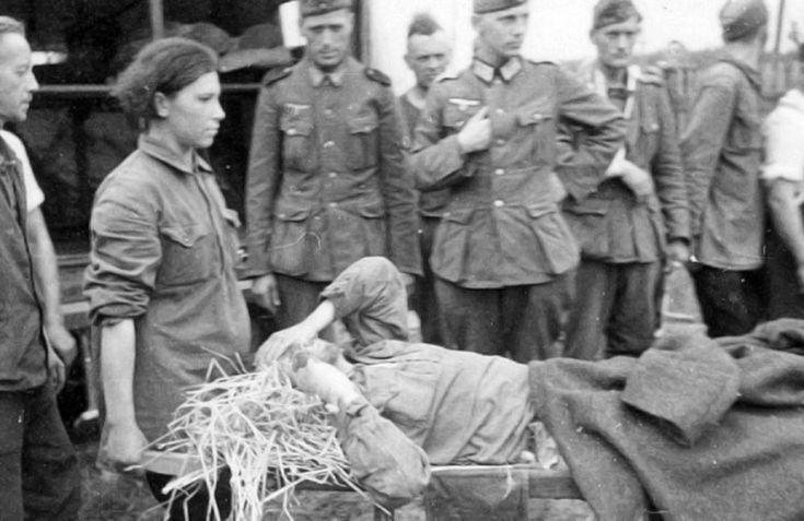 Женщины-военнослужащие РККА в немецком плену, 1941-45. (Часть 1).: history_foto
