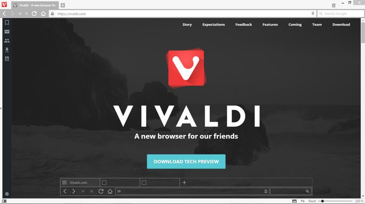 We took a quick look at Vivaldi, the new web browser aimed at power users, developed by one of the founders of Opera.