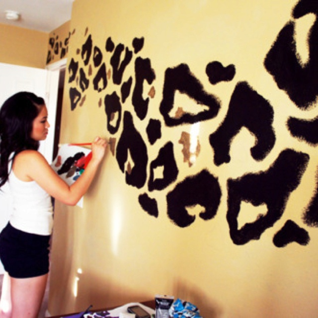 Leopard Wall Decor 114 best leopard print images on pinterest | animal prints